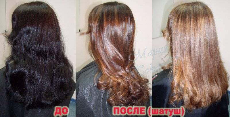 Как выйти из черного цвета волос в русый, блонд, с помощью смывки