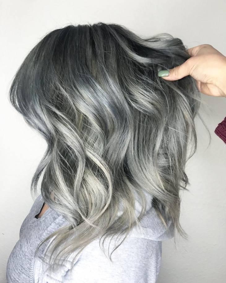 Техника окрашивания балаяж – схемы и фото   фото волос, причесок, стрижек