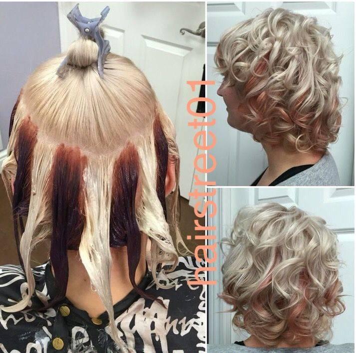 Балаяж на короткие волосы: фото, техника окрашивания