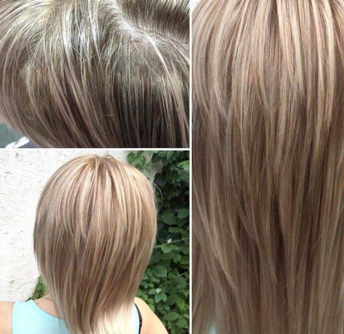Профессиональные средства для тонирования волос после мелирования, осветления