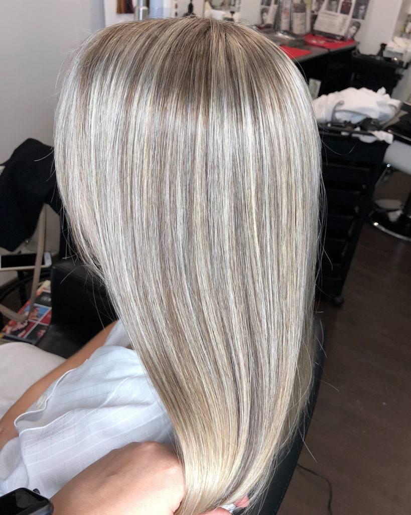 Мелирование на длинные, средние и короткие темные волосы