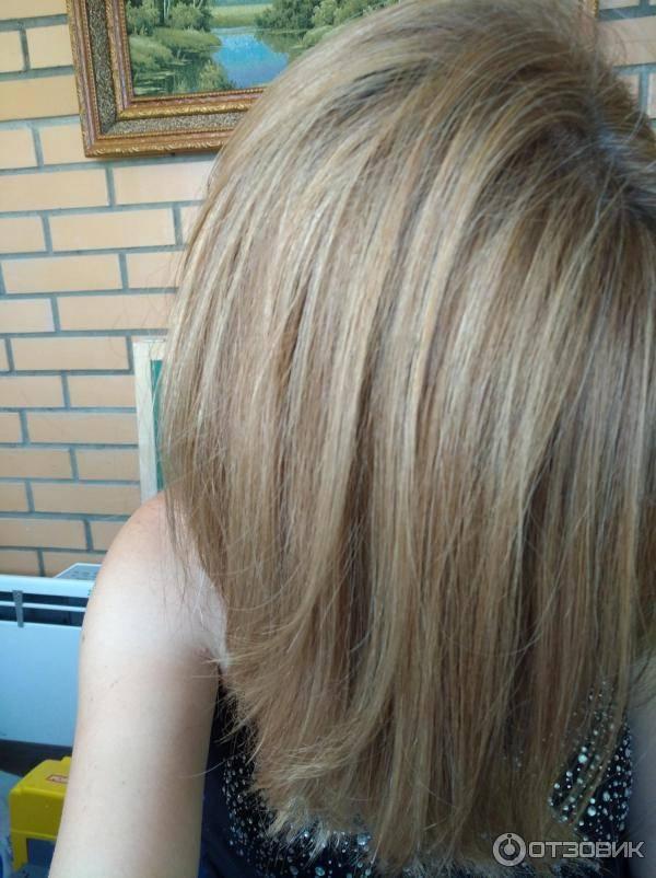 Пепельно-русая краска для волос