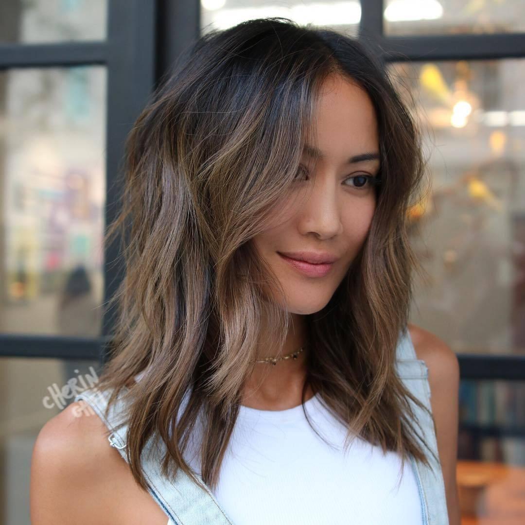 Модное окрашивание на средние волосы: фото, модные тенденции 2019 2020