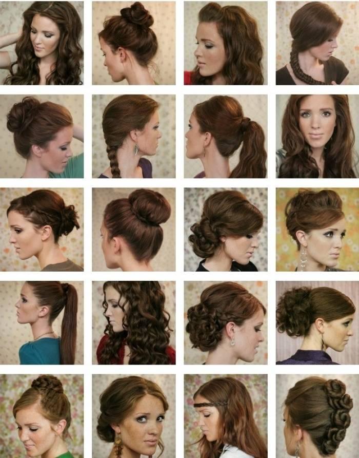 Топ-5 идей вечерних причесок на средние волосы 2020