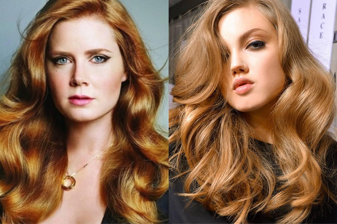 Медно-русый цвет волос: кому идет и как выбрать оттенок?
