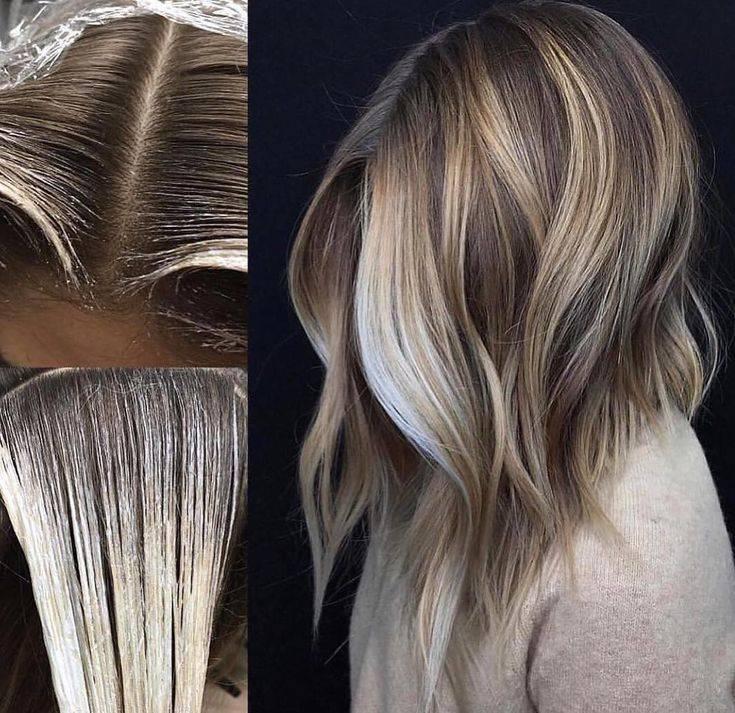 Как сделать балаяж на темные волосы с видео и фото