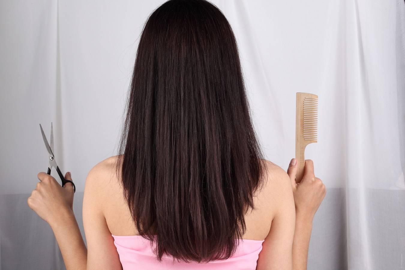 Выполнение женской стрижки лесенка в домашних условиях