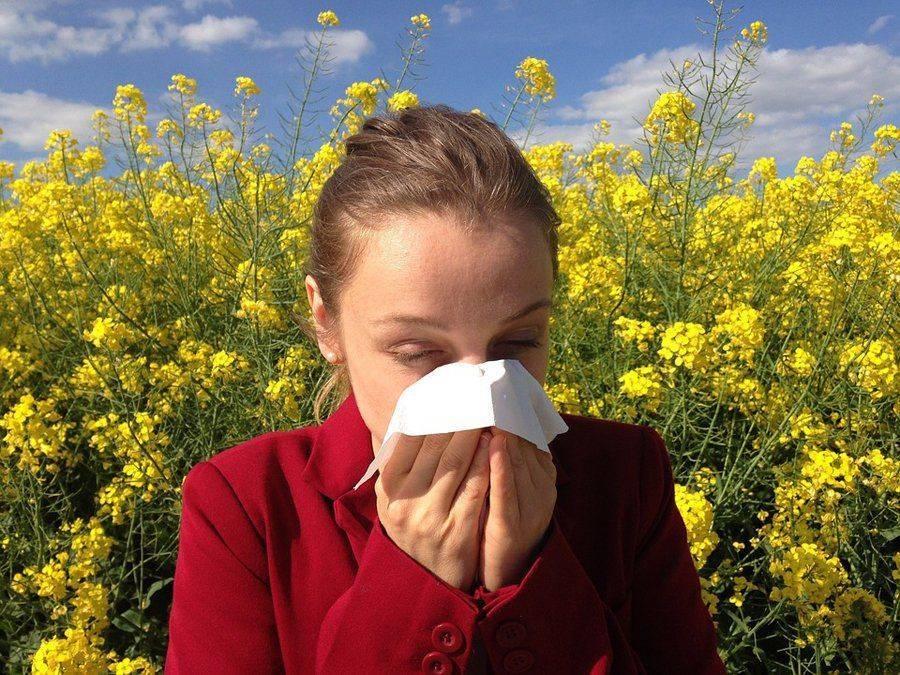 Слезы при аллергии
