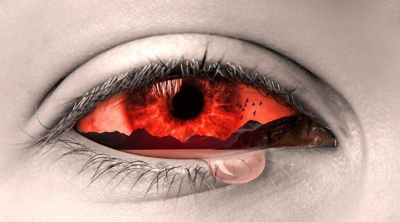 Усталый глаз