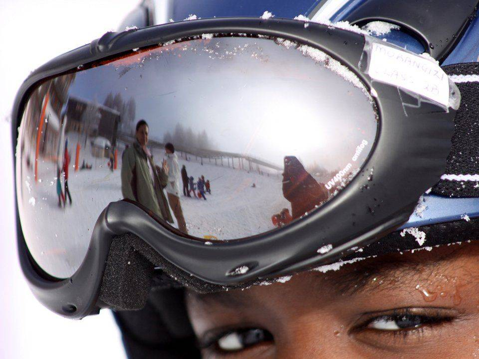 Очки для горных лыж