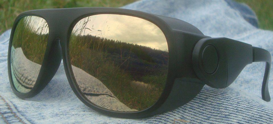 Очки с золотым покрытием