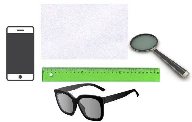 Предметы для измерения оптической силы