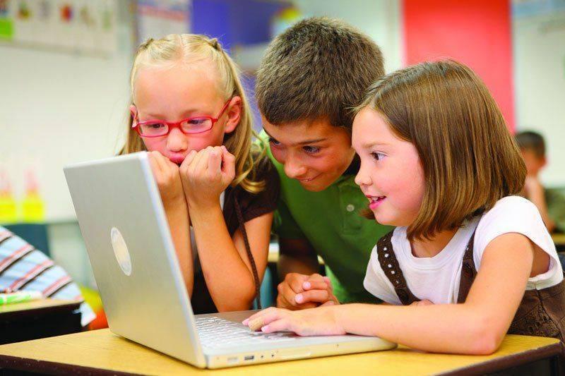 Компьютер и детское зрение