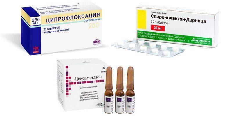 Ципрофлоксацин и другие лекарства