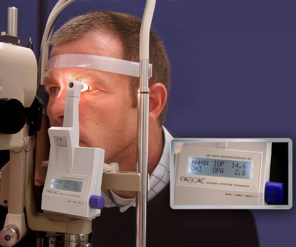 Диагностика глаукомы: тонометрия