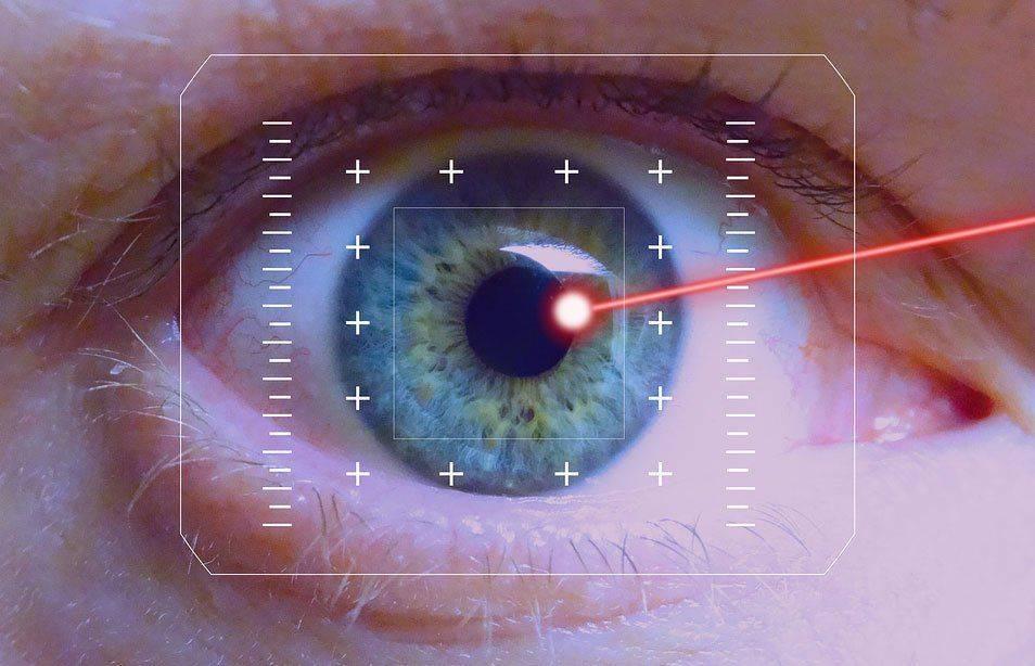 Применение лазера на глазу