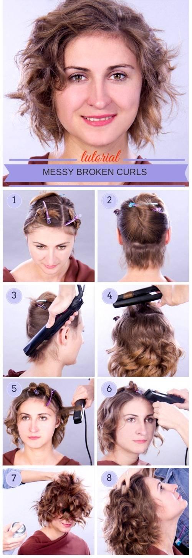 Как уложить короткие волосы в домашних условиях. фото, видео, варианты, пошаговая инструкция