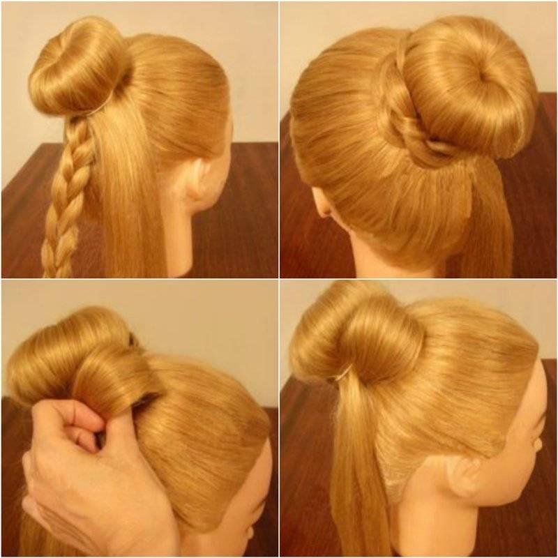 Как сделать бант из волос. пошаговая инструкция на длинные и средние волосы для девочки и девушки. фото
