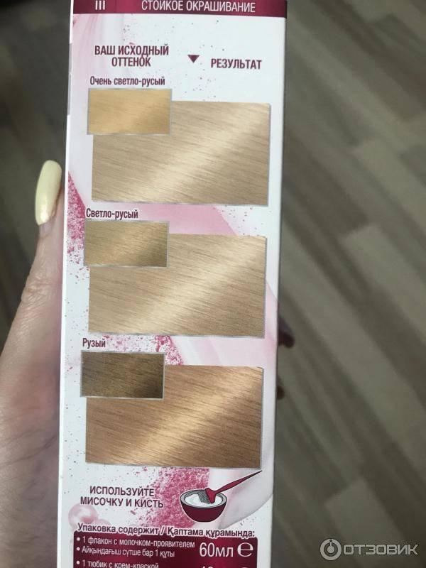 Шедевральная палитра цветов краски для волос гарньер: фото с официального сайта и весь каталог по номерам