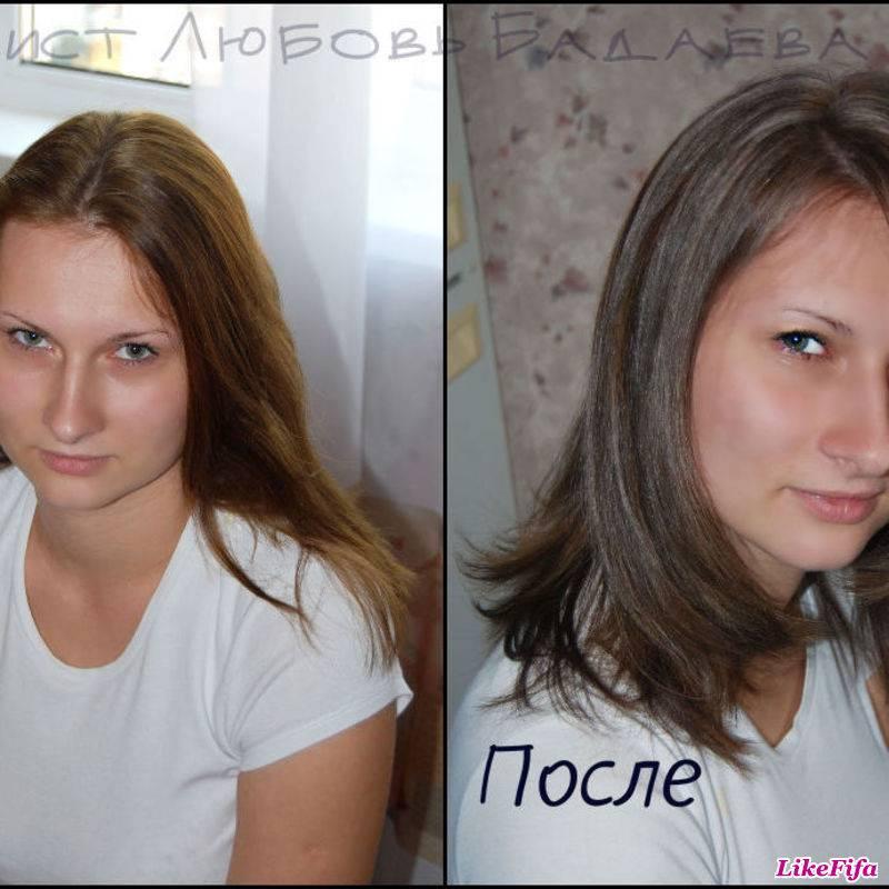 Окрашивание русых волос: в какой цвет покрасить и выбираем краску для русых (фото)