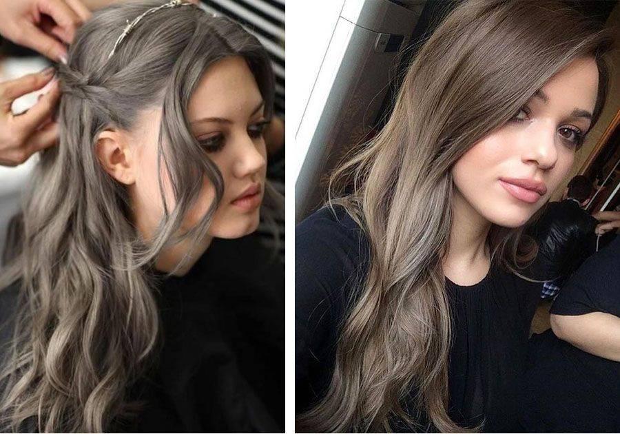 Пепельно-русый цвет волос: фото, выбор краски, секреты окрашивания