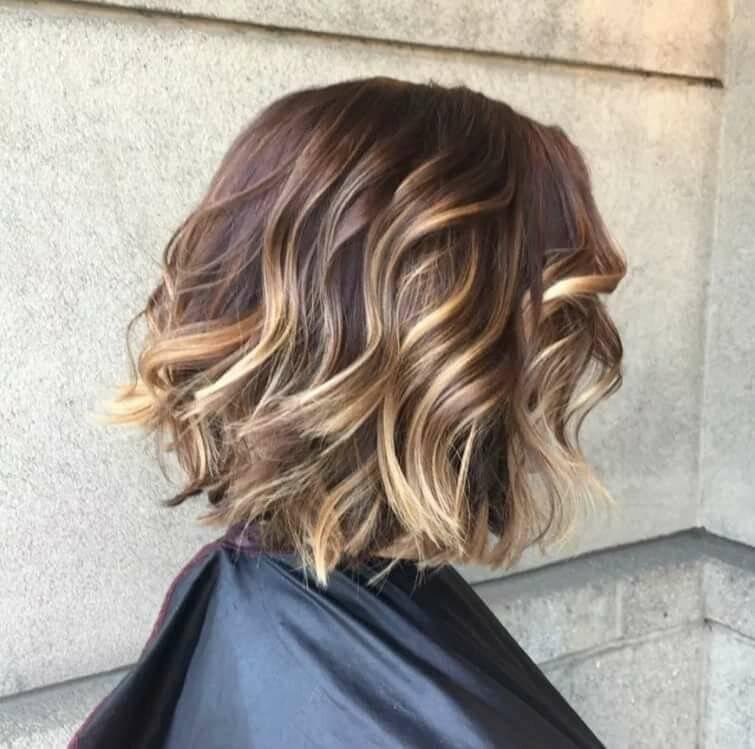 Окрашивание балаяж на короткие волосы с фото и видео