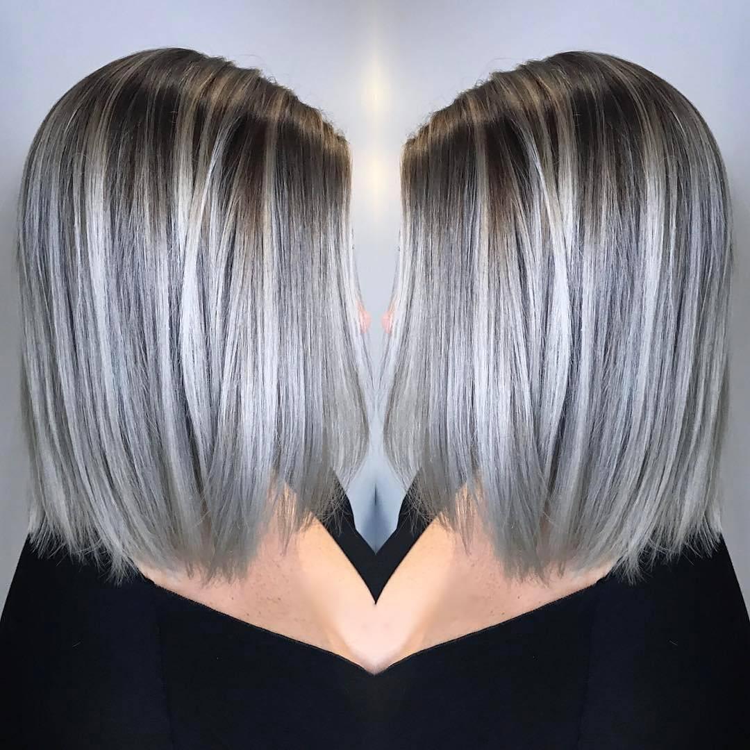 Балаяж на русые волосы: 200 фото