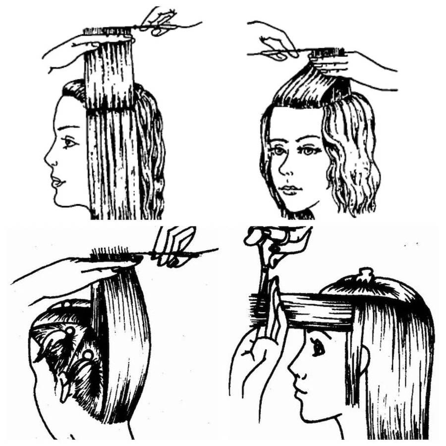 Ступенчатые женские стрижки лесенка и каскад в 2020 году