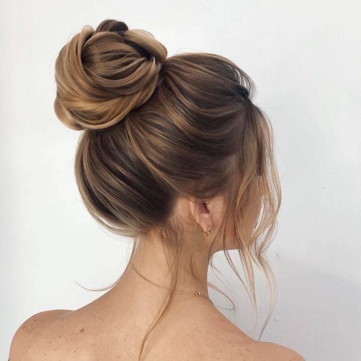 Пучок на средние волосы. как сделать быстро и красиво прически с бубликом пошагово своими руками