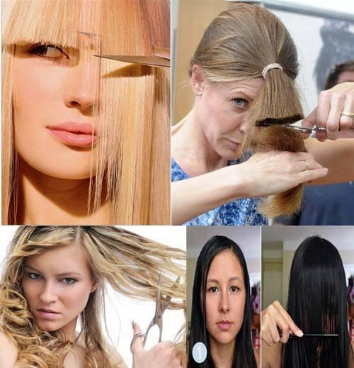 Как подстричь волосы красиво – пошаговые инструкции с фото на длинные, короткие, средние локоны