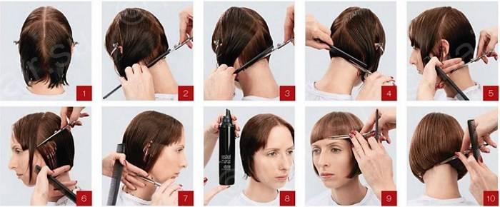 Прически на короткие волосы своими руками: тонкости создания простых и быстрых причесок на каждый день. пошаговые уроки с фото