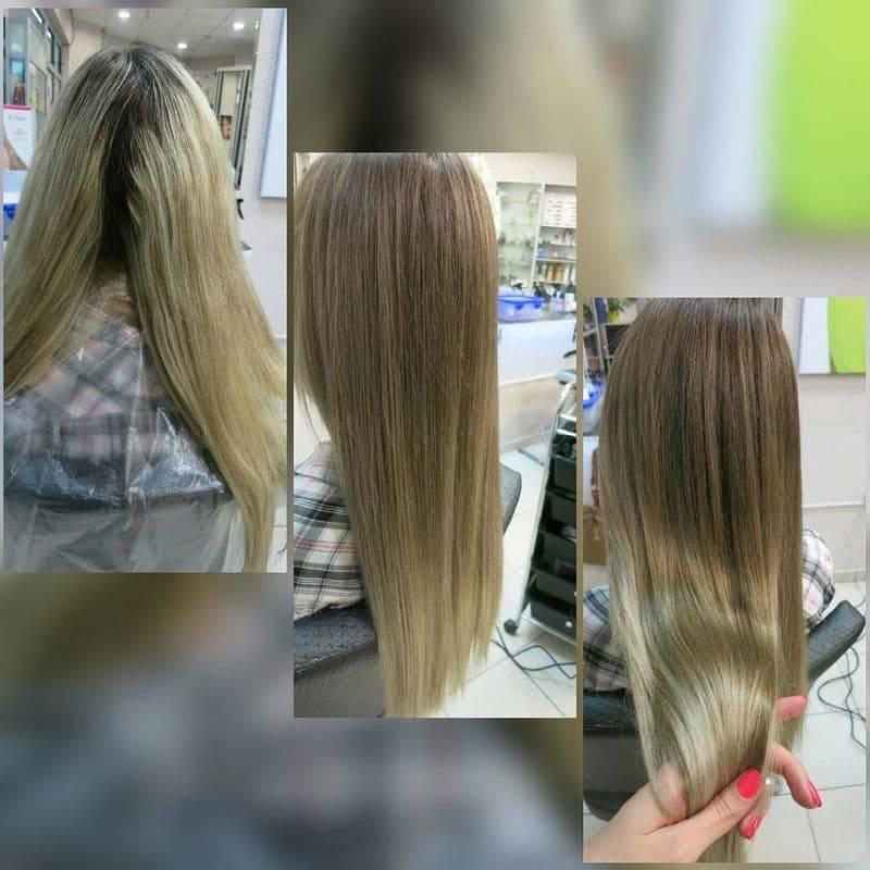Выбираем лучшее средство для тонирования волос после мелирования