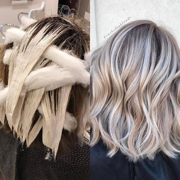 Балаяж — техника окрашивания волос. фото на темные, русые, короткие, длинные, средние локоны