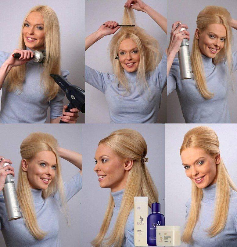 Уложились в срок: красивые и быстрые укладки на средние волосы