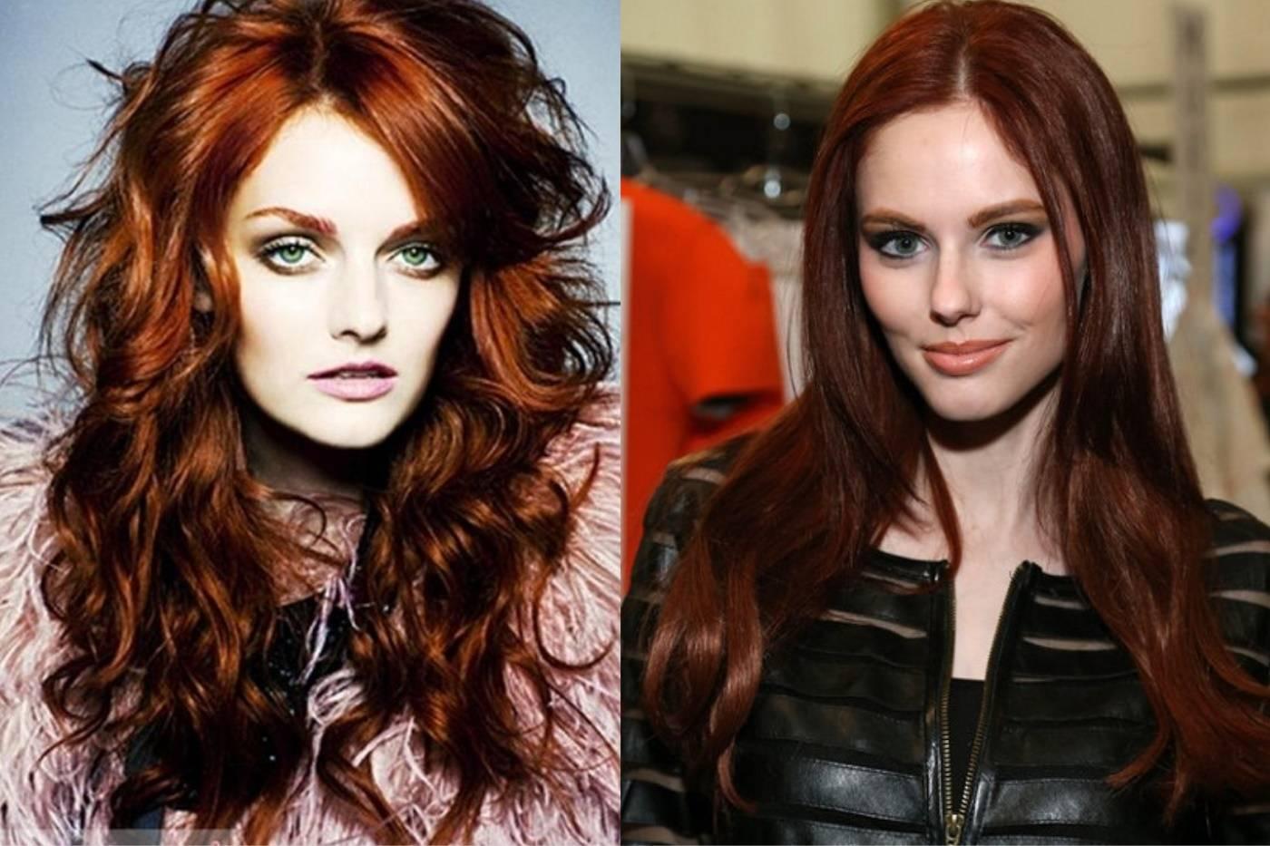 Краска для волос цвета каштан