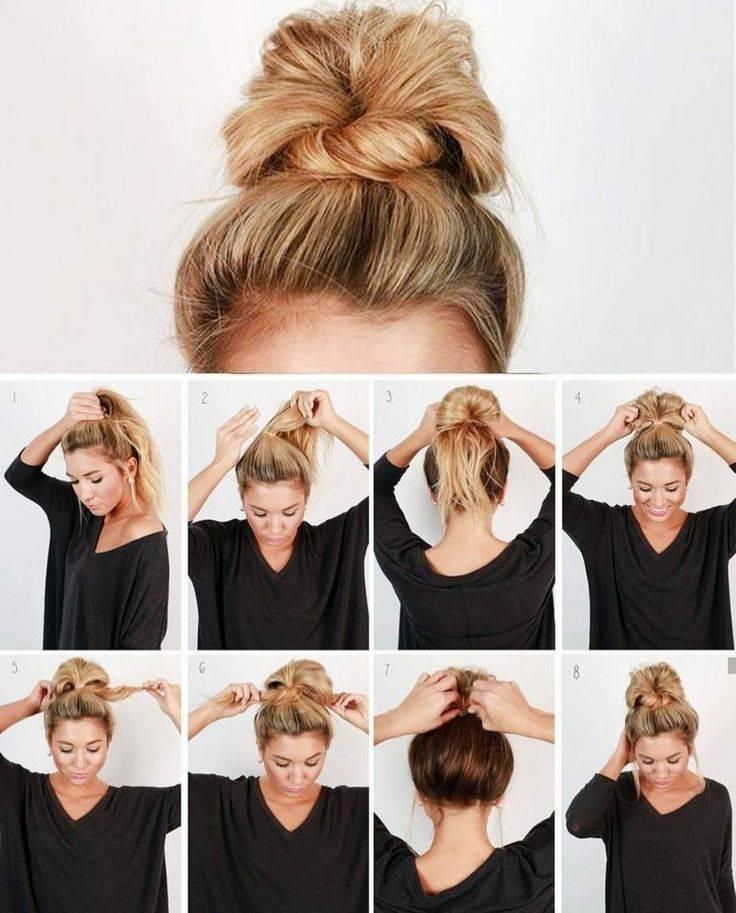 Красивые, легкие и простые прически на короткие волосы на каждый день