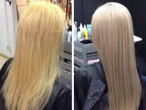 Отзывы о тонировании различных типов волос с фото до и после и комментариями эксперта