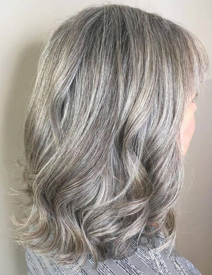 Современное мелирование на русые волосы