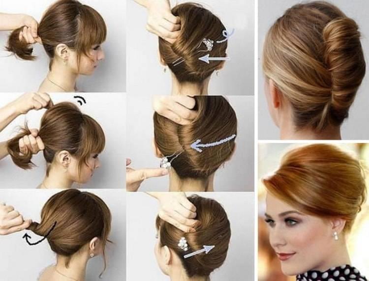 Как сделать причёски в школу на каждый день самой себе за 5 минут по обучающим видео и фото: картинки с результатами, на короткие, длинные и средние волосы смотреть бесплатно сейчас