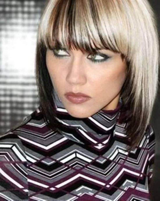 Покраска волос в два цвета: фото-подборка на разную длину волос и советы стилистов