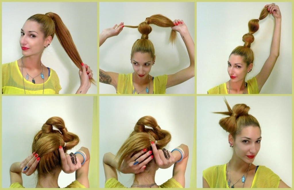 Как сделать прическу «бант из волос»: пошаговая инструкция с фото, видео | женский журнал читать онлайн: стильные стрижки, новинки в мире моды, советы по уходу
