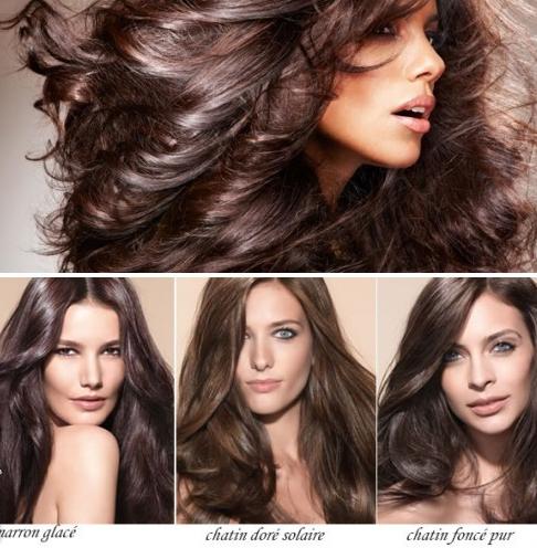 Холодные оттенки волос: окрашивание в русый, каштановый