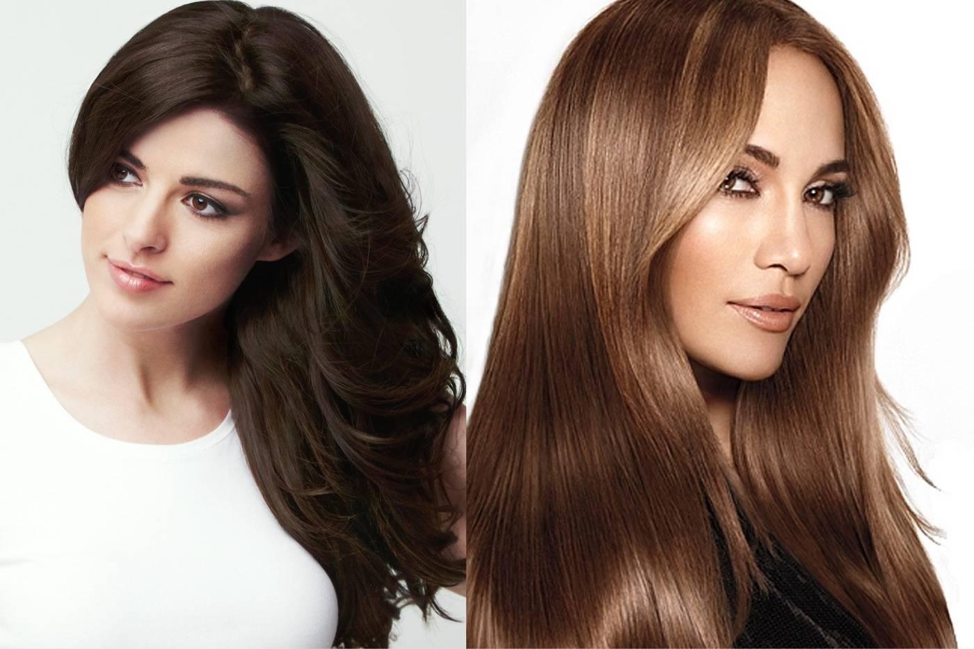 Холодный коричневый цвет волос. фото, краски, как получить с растяжкой, мелированием, без рыжины