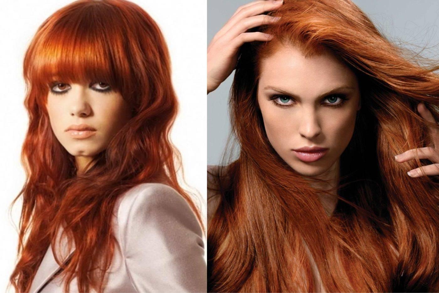 Медный цвет волос: выбираем оттенок, краску, подбираем гардероб