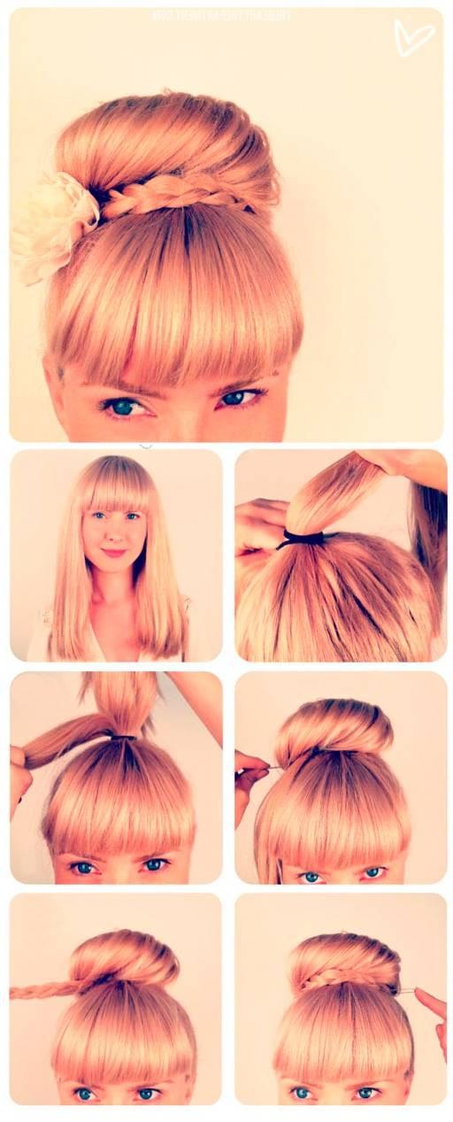 Красивые, легкие и простые прически на короткие волосы на каждый день своими руками