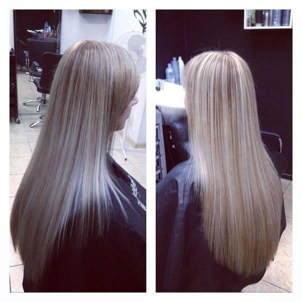 Эффектное мелирование для блондинок: инструкция окрашивания темными прядями и фото различных вариантов