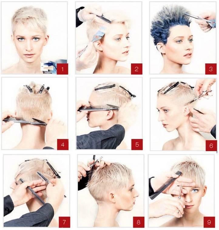 Как уложить волосы. каскад на короткие волосы: пошаговая инструкция, техника выполнения, фото
