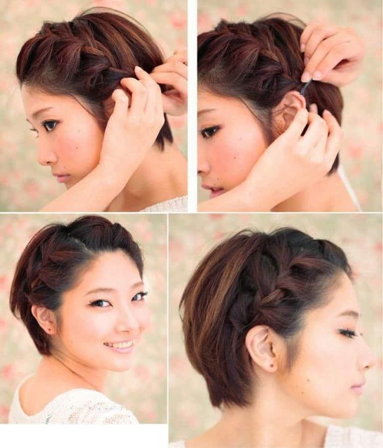 Как сделать прическу на короткие волосы — секреты, нюансы и варианты изготовления прически в домашних условиях (110 фото)