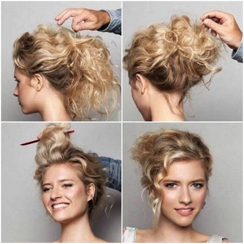 Как сделать укладку на короткие волосы в домашних условиях