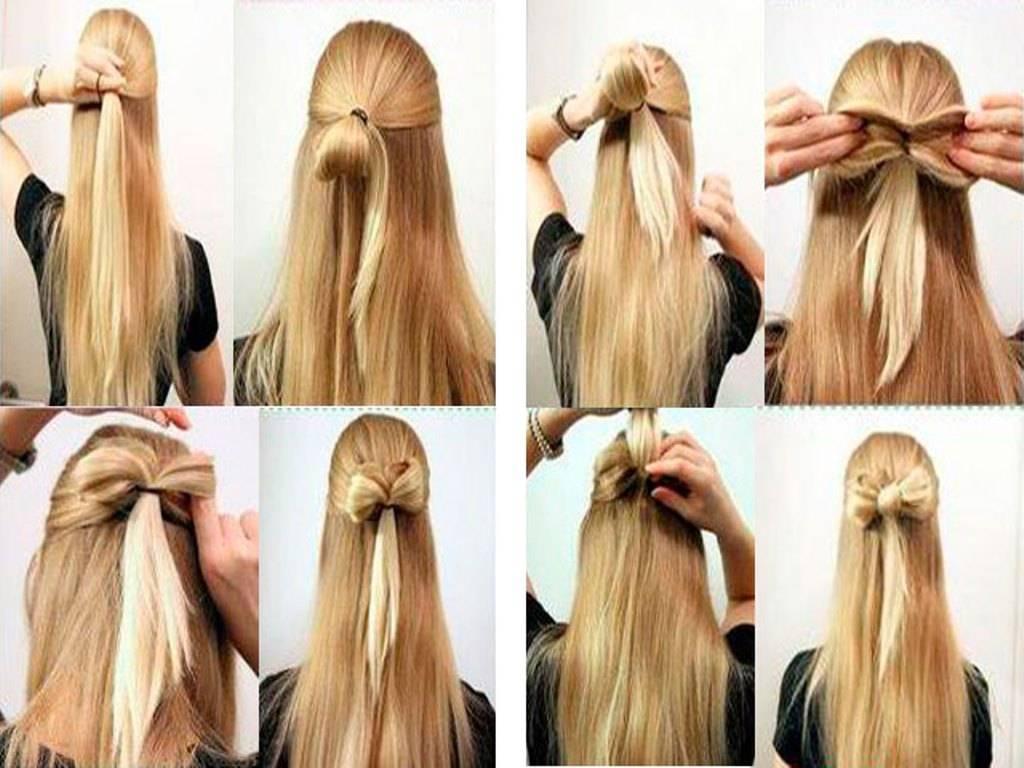 Красивые детские прически для девочек на длинные волосы с пошаговым фото